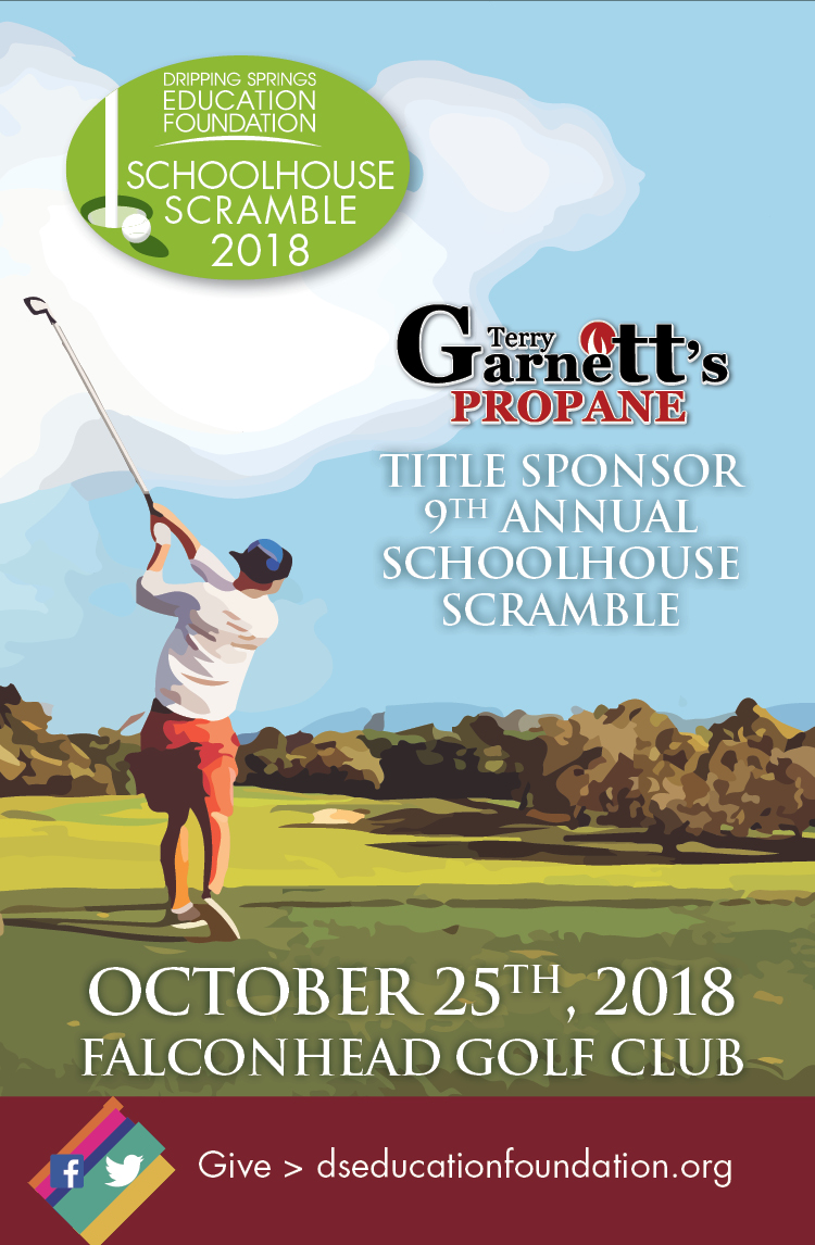Sign up for the 2018 Schoolhouse Scramble Today!