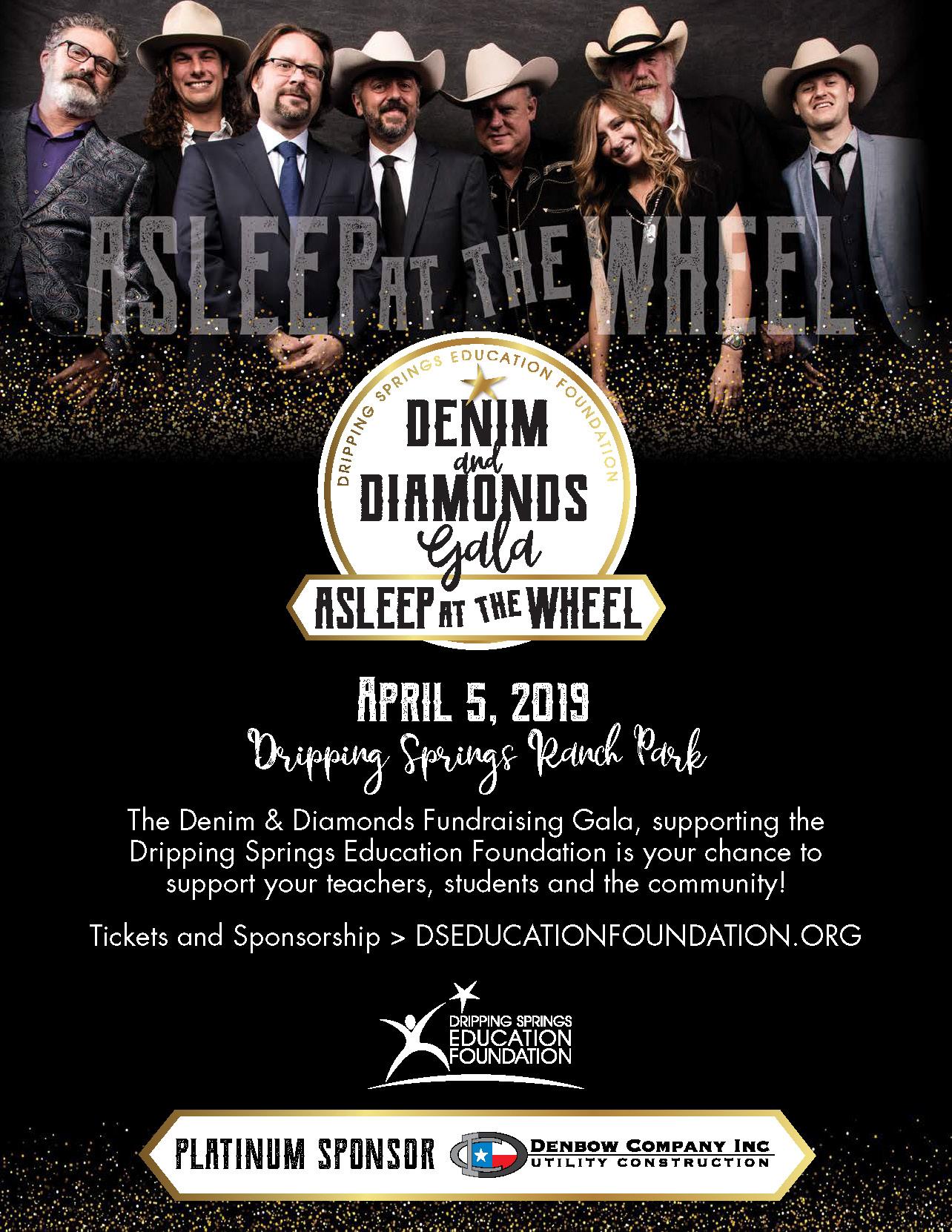 The 2019 Denim & Diamonds Gala is coming — April 5, 2019